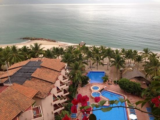 Friendly Vallarta All Inclusive Family Resort :                   view from our bedroom , get any room 5th and up & guarantee view , and quietne