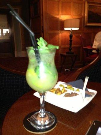 Macdonald Randolph Hotel:                   the best mojito in Oxford