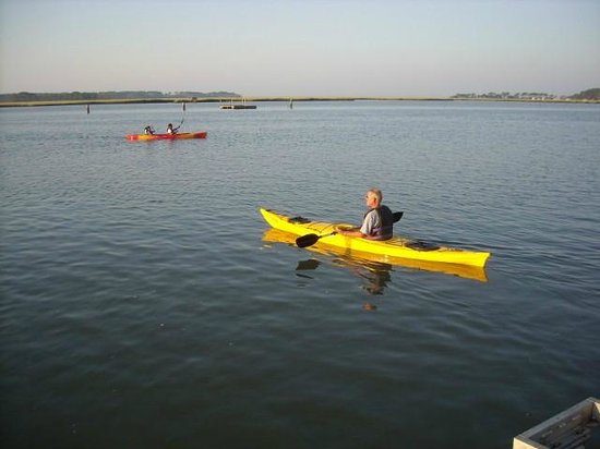 What a nice view! - Picture of Old Town Canoe and Kayak Assateague
