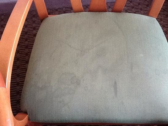DoubleTree by Hilton Hotel Memphis:                   Disgusting Chair #3