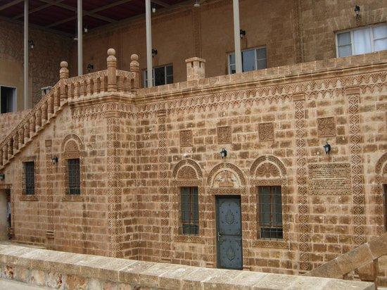 Mor Gabriel Monastery:                   Yaşam alanları