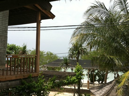 Balikana Boutique Beach Resort:                   breakfast view..