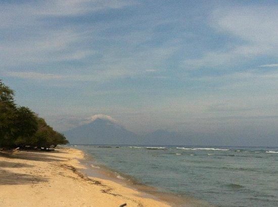 Balikana Boutique Beach Resort:                   View from breakfast..