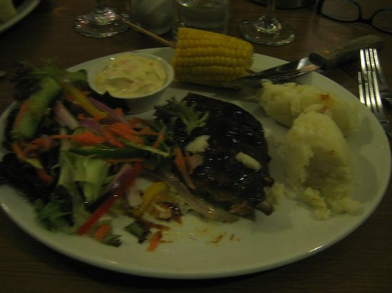 The McKirdy's Steakhouse: HALF RACK OF RIBS