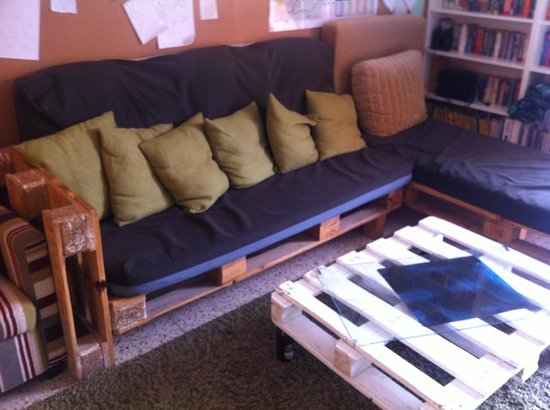 The Green Backpackers:                   Cool funiture