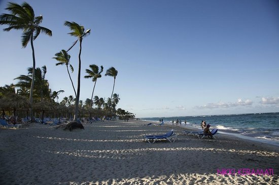 Grand Bahia Principe Punta Cana: walk on the beach