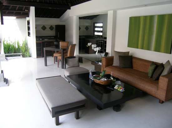 The Amala:                   Lounge area with tv and dvd player