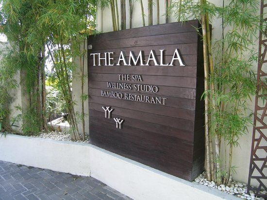 The Amala:                   Gorgeous Entrance