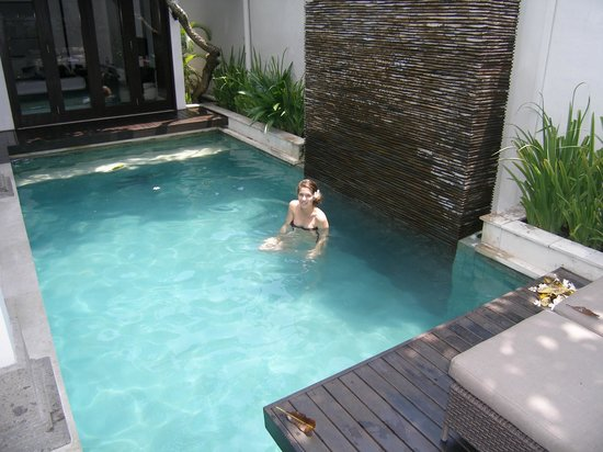 The Amala:                   Our pool, gorgeous!