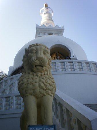Japanese Peace Pagoda: pagoda