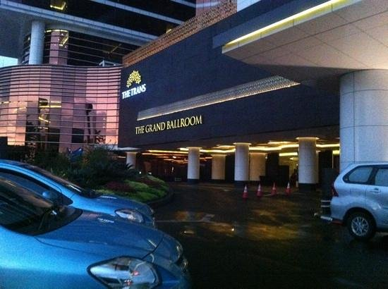 The Trans Luxury Hotel Bandung:                                     hotel facade