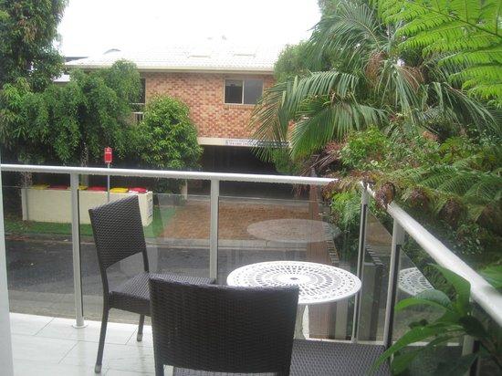 Bayview Beachfront Apartments:                   garden view