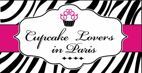 Cupcake Lovers In Paris: Logo & colours