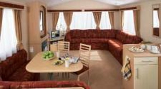 Pentire Haven Holiday Park: Lounge area