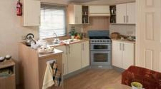 Pentire Haven Holiday Park: Kitchen area