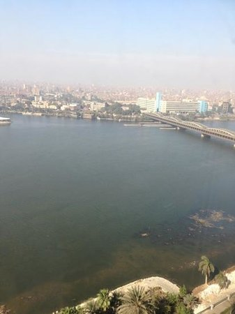 Fairmont Cairo, Nile City:                   Nile River View