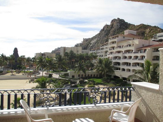 Sandos Finisterra Los Cabos:                   View from room of hotel grounds