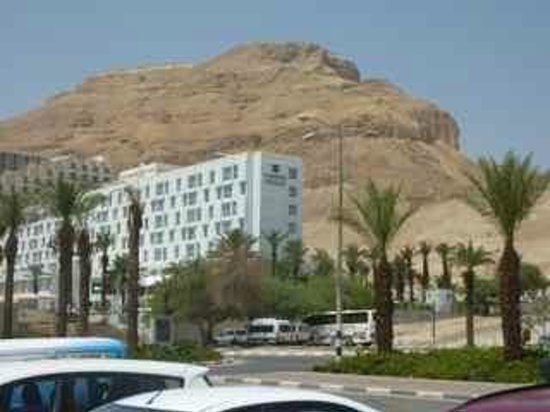 Isrotel Ganim:                   View of hotel