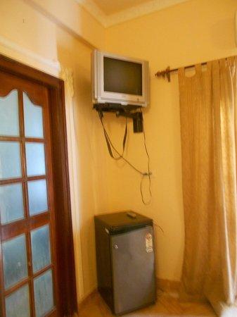 Hotel Sea Gull:                   телевизор и холодильник