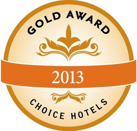 Quality Suites Lake Buena Vista: 2013 Gold Award winner