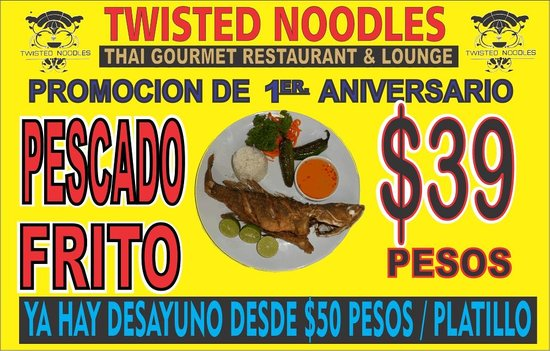 Twisted Noodles: the best deal in town ever