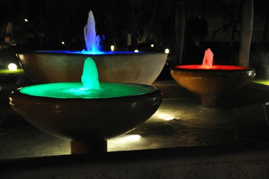 Dreams Palm Beach Punta Cana:                   Fountains