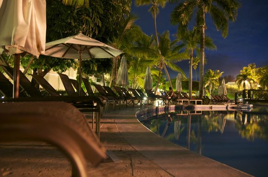 Dreams Palm Beach Punta Cana:                   Dreams at night