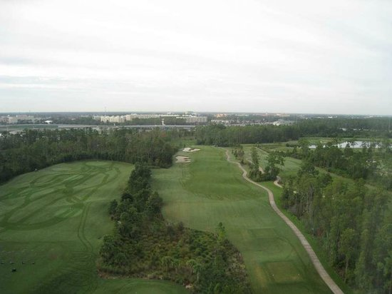 Waldorf Astoria Orlando:                                     view
