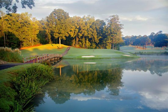 University of Georgia Center for Continuing Education & Hotel: UGA's Robert Trent Jones Golf Course