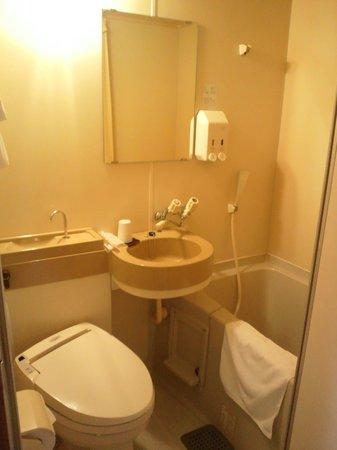Hakataekimae SB Hotel:                   unit bath