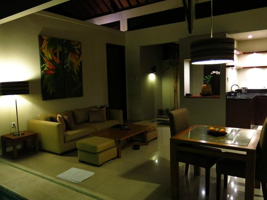 Pradha Villas:                   Sofa area