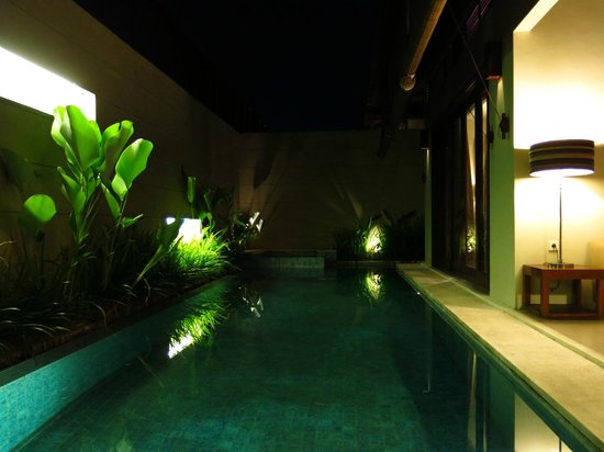 Pradha Villas:                   Private pool