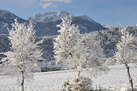 Pension Villa Blumegg: Sicht ins Skigebiet
