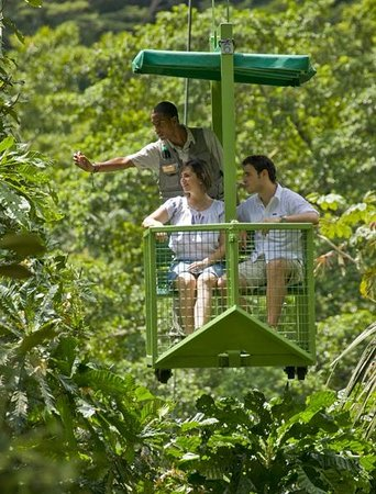 Gamboa Rainforest Resort: Aerial Tram