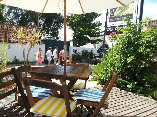 Toca Da Moreia-Albergue Hostel:                   en el bar de la toca