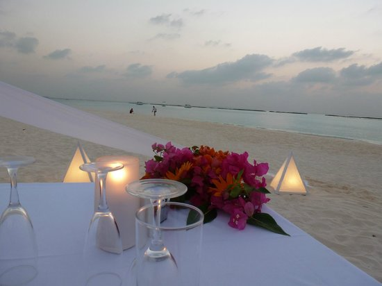 The Sun Siyam Iru Fushi Maldives:                   Destination Dining