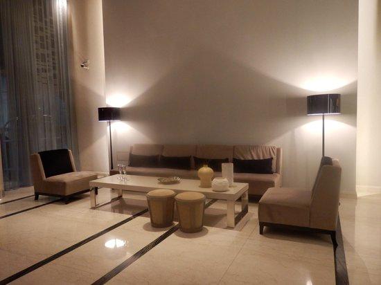 Recoleta Grand:                   le hall d'entrée