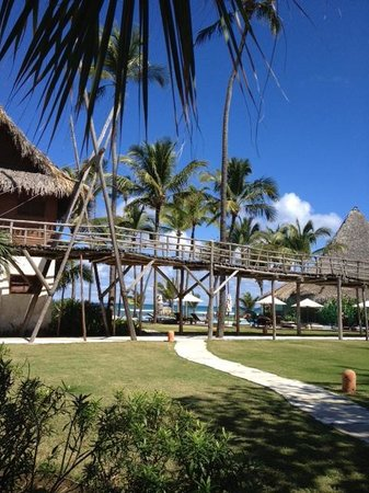 Zoetry Agua Punta Cana:                   Looking out at the beach...