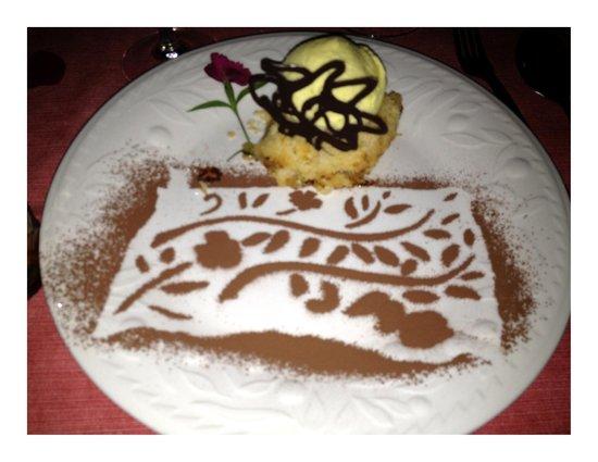 Il Gabbiano:                   dessert
