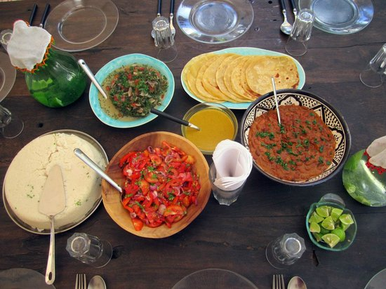 Karkadeh Restaurant : Friday´s Staff Lunch also for our guests
