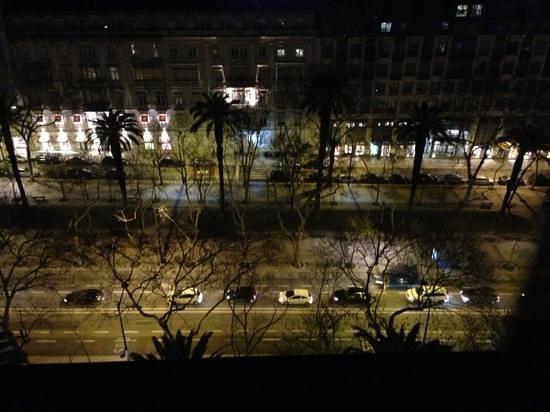 Tivoli Lisboa:                   vista dal ristorante panoramico