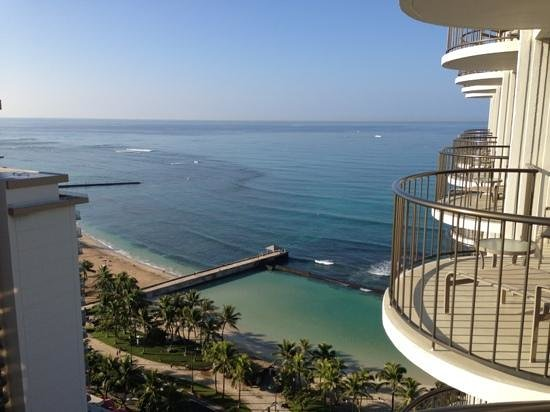 Waikiki Beach Marriott Resort & Spa: From the 23 floor.