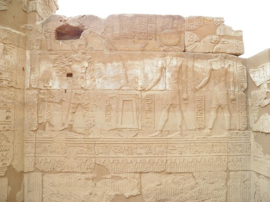 Temple of Montu in Tod, wall
