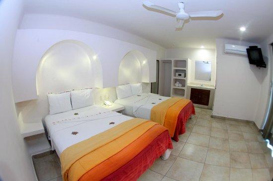 Princess Mayev Hotel: habitacion vista al pueblo