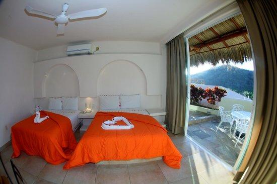 Princess Mayev Hotel: habitacion vista al puebl