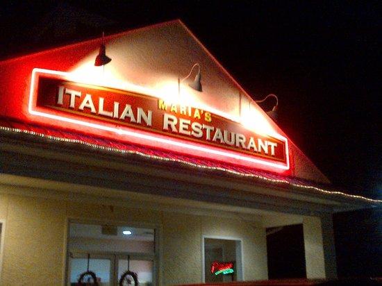 Maria's Italian Restaurant:                   Maria's