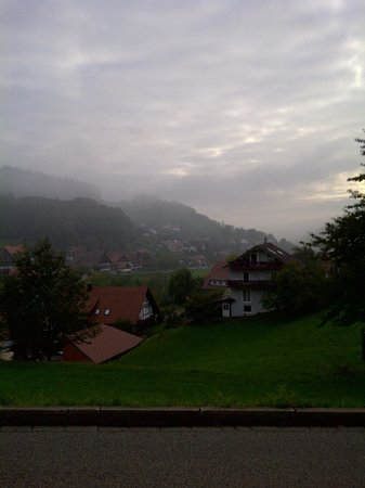 Pension Williams:                   Cloudy September day in Seebach