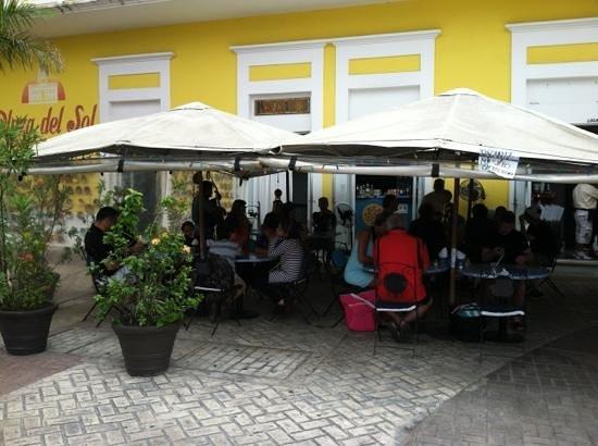 Frida's Restaurant Bar:                   Mosaicoz, Cozumel, Mexico