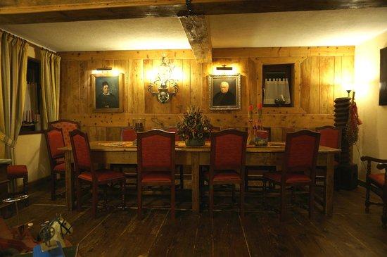 La Meridiana - Hotel du Cadrain Solaire:                                     Dining room