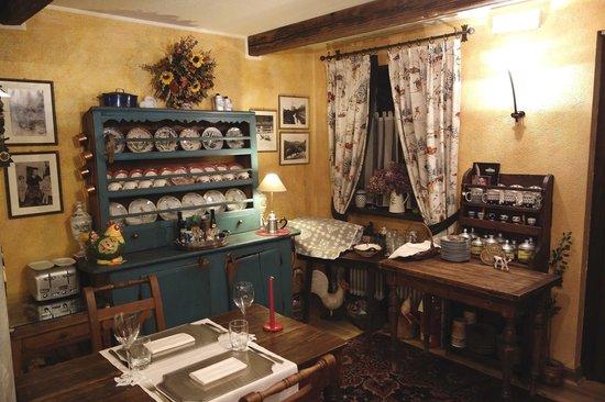 La Meridiana - Hotel du Cadrain Solaire :                                     Dining room